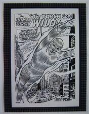 Original Production Art STRANGE TALES #119 splash page, DICK AYERS art