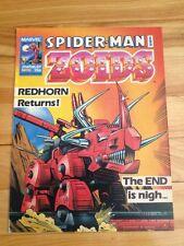 Spiderman And Zoids Magazine # 51