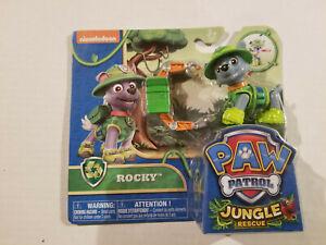 Paw Patrol Jungle Rescue Rocky - New