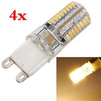4pcs G9 3W 64 Lampe LED 3014 SMD Lumiere economiseur d'energie 220V blanc cha 1T