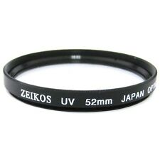 Zeikos 52mm UV Digital Multi-Coated Lens Glass Filter NEW