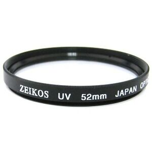 Zeikos 52mm UV Digital Multi-Coated Lens Glass Filter NEW