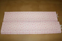 Roman Blind, Laura Ashley Sweetheart Pink Fabric (Made to measure)