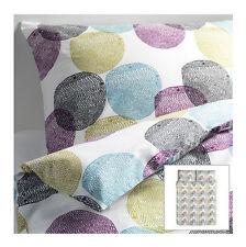 IKEA duvet cover 2 pillowcases FULL/QUEEN set bedroom bedding Malin Rund NEW