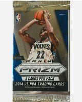 2014-15 Panini Prizm Basketball Pack Unopened Sealed Prizm Pack Embid TJ Warren?