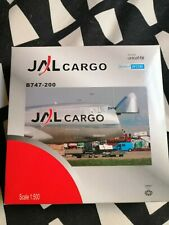 Herpa Wings JAL Cargo Boeing 747 Diecast 1:500 w/box polished