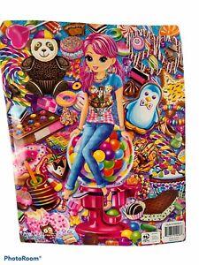 Lisa Frank Folder CHERRI Treat Town Candy NEW 2 Pocket Portfolio Folder