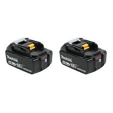 Makita BL1840B 18-Volt 4.0Ah LXT Lithium-Ion Battery with Indicator, 2-Pack