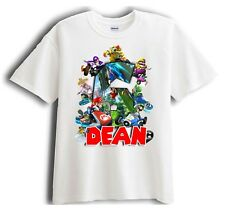 Mario Kart Personalized - Birthday T-Shirt Party Favor