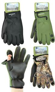 Outdoor Neoprene Gloves Fishing Rubber Grips Glove with Fold Back Finger & Thumb