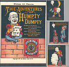 RARE: Humpty Dumpty 1877 Comic Book NY Illustrated Clown Sea Foam Advertising