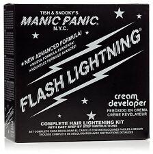 [MANIC PANIC] FLASH LIGHTNING SUPER STRENGTH HAIR BLEACH KIT VOLUME 30 DEVELOPER