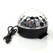 DJ Lighting LED Crystal Magic Ball Projector Stage Show Light Club Disco SDFDGE
