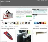 Auto Repair Store Amazon Affiliate Website Make Money Free installation  + Host