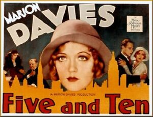 Five and Ten - 1931 - Marion Davies Leslie Howard  Vintage Pre-Code Film DVD
