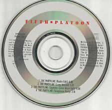 FIFTH PLATOON The Partyline 4TRX CLEAN & EDIT & LONG  PROMO DJ CD single 5th