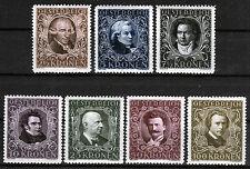 Österreich 418-24 A **, Österreichische Komponisten/Musiker