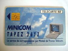 PHONECARD TELECARTE MINICOM FRANCE TELECOM
