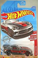 2020 Hot Wheels Target Exclusive #50 Red Edition 2/12 DODGE VIPER SRT10 ACR Gray