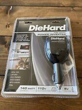 Diehard 140 Watt Vehicle Power Inverter 12V Dc to 110V Electrical w/ Usb 71522