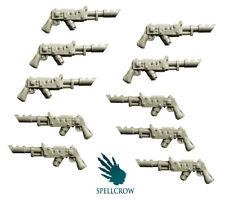 SPELLCROW Laser Guns GUARDS SHOCK TROOPS BITS 28mm COMPATIBLE PDT