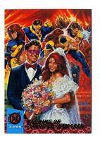Fleer 1994 X-Men Ultra #126 X-Overs Wedding of Part 3 Card Cyclops and Jean Grey