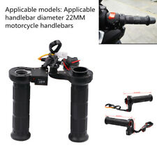 2xAdjustable Motorcycle ATV Electric Handlebars Modified Heating Handle For 22mm