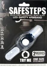 LED Reflective Flash Light Arm Band Sports Walkers Runners Joggers Biking Safety