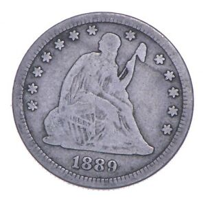 1889 Seated Liberty Quarter - Charles Coin Collection *775