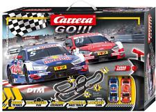Carrera Go DTM Master Class Autorennbahn Set - Schwarz/Rot (20062480)