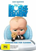 The Boss Baby DVD : NEW