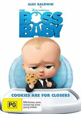The Boss Baby (DVD, 2017) Brand New Sealed Region 4