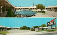 1960s Cumberland Motel Manchester Tennessee Teich postcard 12434 auto