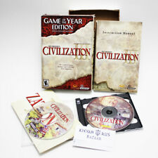 Sid Meier's Civilization III 3 Game of the Year Edition PC Box Set Complete