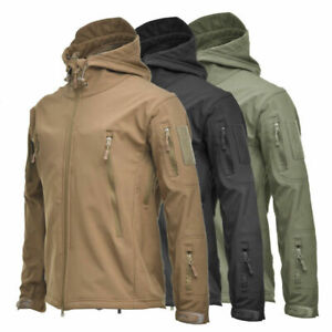 Men's Outdoors Military Tactical Coat Jacket camouflage