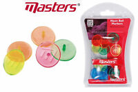 Masters Golf Neon Golf Ball Markers Pack of 12