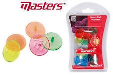 Masters Golf Neon Balle de Golf Marqueurs Paquet de 12