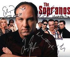 THE SOPRANOS CAST #2 REPRINT AUTOGRAPHED SIGNED 8X10 PHOTO JAMES GANDOLFINI RP