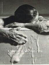 PUBLICITE ADVERTISING 025  1994  DONNA KARAN  ligne bain parfum