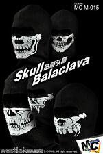 """Balaclava Mask Full Set of 5 Magic Cube 1/6th Scale for12"""" Figure"""