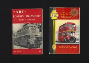 Ian Allan ABC London Transport Buses & Coaches Books Bundle (4) 1950s.