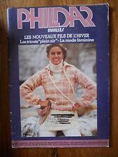 CATALOGUE PHILDAR n°55 de 1977 - Femme et Homme