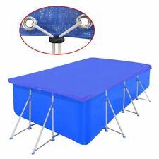 vidaXL Cubierta Piscina Rectangular PE Azul 540x270cm Toldo Protección Jacuzzi