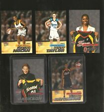 2001 ultra wnba set of 150,includes the sp rookies,lauren jackson.stiles,catchin