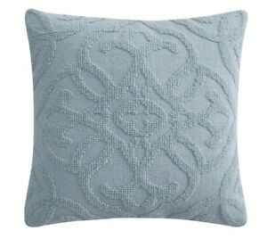 "My Texas House Addison Woven Pillowcase 20""x20"" 100% Cotton ~ Green/Mint"