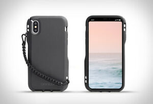 DANGO COVERT for iPhone X/XS Case - RUGGED PROTECTION w/ 95 Paracord Lanyard