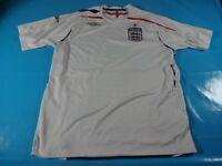 authentic vtg England national 2007 soccer football shirt jersey