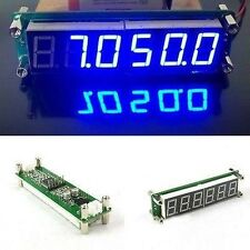 0.1MHz~65MHz RF Frequency Counter Cymometer meter LED FOR Ham Radio amplifier B