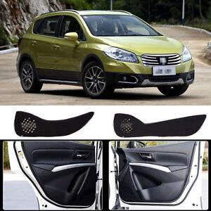 Interior Door Nylon Panels Anti-kick Mat Protecter Pads For Suzuki S-CROSS 14-15