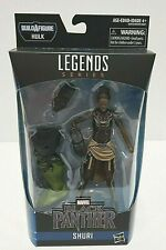 "New Marvel Legends Avengers Endgame Hulk Black Panther Shuri 6"" BAF FAST SHIP"